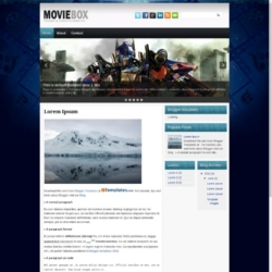 MovieBox Blogger Template