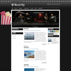 MovieWp Blogger Template