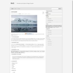 MxS Blogger Template