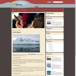 MyBlog Blogger Template