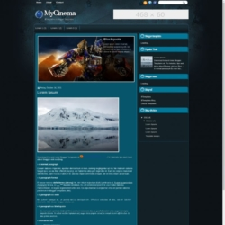 MyCinema Blogger Template