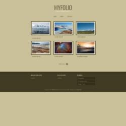 MyFolio Blogger Template