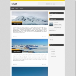 Myst Blogger Template