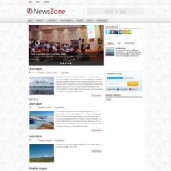 NewsZone Blogger Template