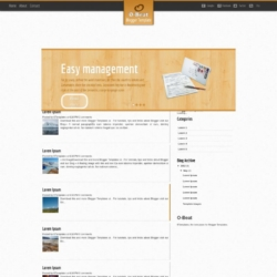 O-Beat Blogger Template