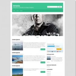 Octavia Blogger Template