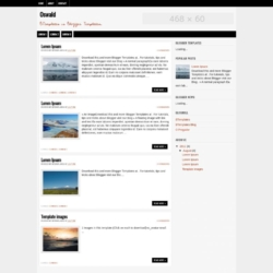Oswald Blogger Template