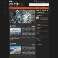 Palatino Blogger Template