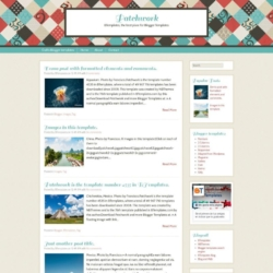 Patchwork Blogger Template