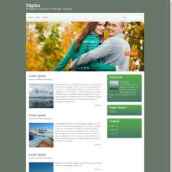 Pilgrim Blogger Template
