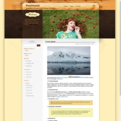 Positmood Blogger Template