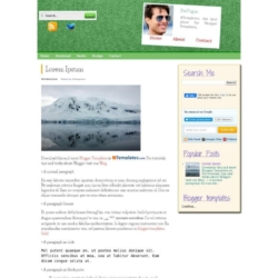 PreVogue Blogger Template