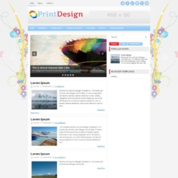PrintDesign Blogger Template