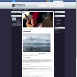 ProHosting Blogger Template