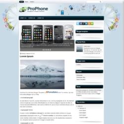 ProPhone Blogger Template