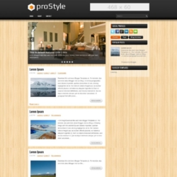 proStyle Blogger Template