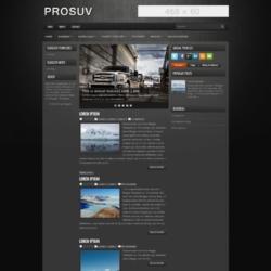 ProSUV Blogger Template