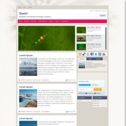 Quest Blogger Template