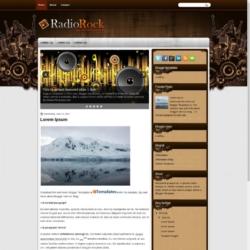 RadioRock Blogger Template