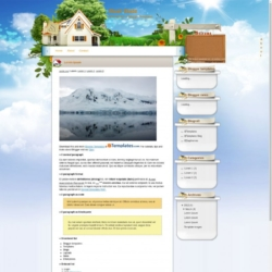 Real State Blogger Template