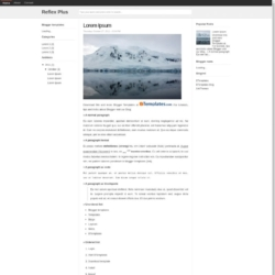 Reflex Plus Blogger Template