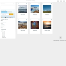 Responsive Gallery Blogger Template