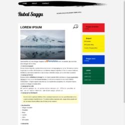 Rubal Saggu Blogger Template