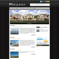 Sequence Blogger Template