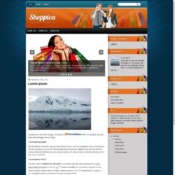 Shoppica Blogger Template