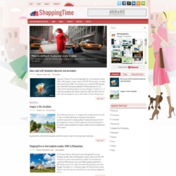 ShoppingTime Blogger Template
