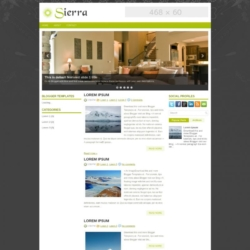 Sierra Blogger Template