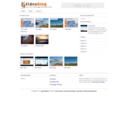 SimpleVideoblog Blogger Template