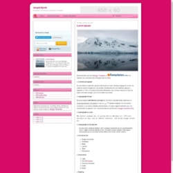simpleXpink Blogger Template