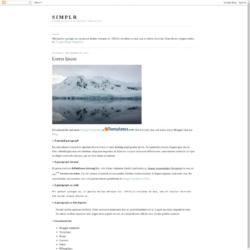 Simplr Blogger Template