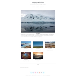 Simply Delicious Blogger Template