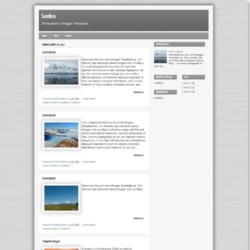 Sombra Blogger Template