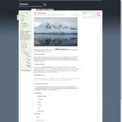 STheme Blogger Template