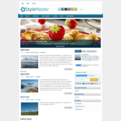 StyleMaster Blogger Template
