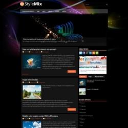 StyleMix Blogger Template