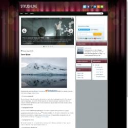 StylishLine Blogger Template