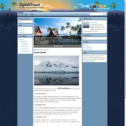 StylishTravel Blogger Template