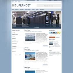 SuperHost Blogger Template