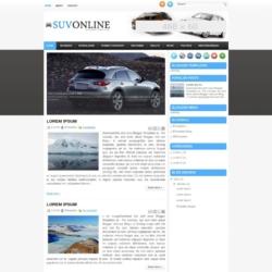 SuvOnline Blogger Template