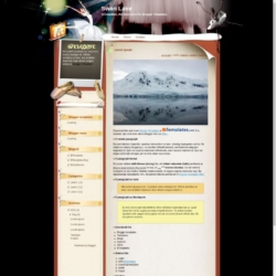 Swan Lake Blogger Template