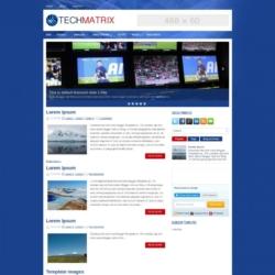 TechMatrix Blogger Template