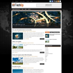 TechUp Blogger Template