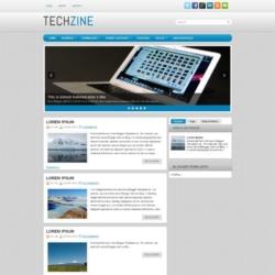 TechZine Blogger Template