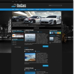 TheCars Blogger Template