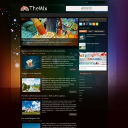 TheMix Blogger Template