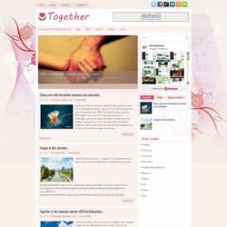 Together Blogger Template